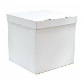 Большой коробок сюрприз, большая белая коробка, коробка с крышкой, коробка сюрприз
