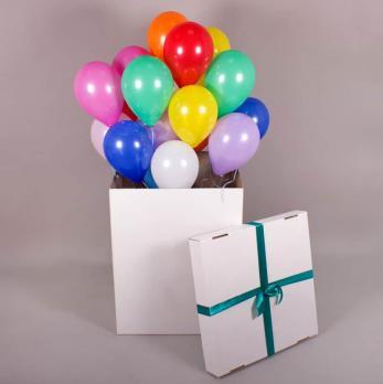 коробок для шаров, коробок большой для подарка, большая коробка сюрприз