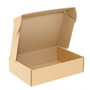 маленькая коробка тип самолет (ласточкин хвост) для упаковки  товаров.